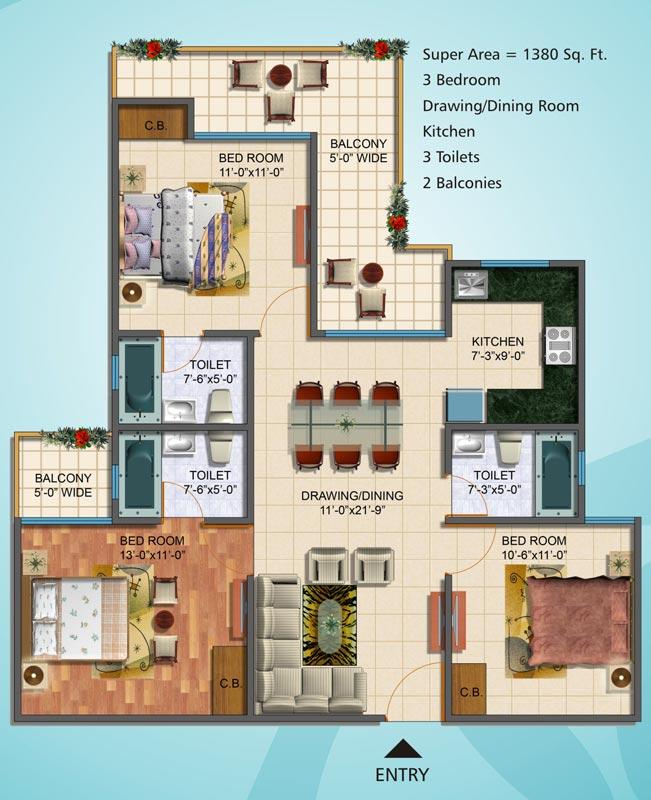 Sg Homes Vasundhara Price List